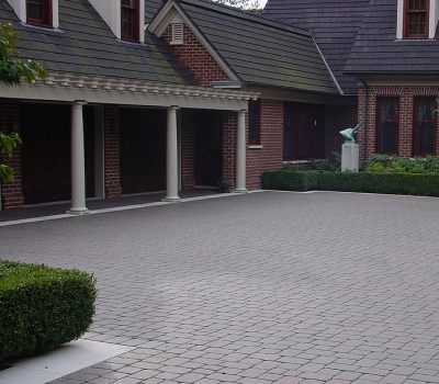 Past Work | Stone & Brick Hardscape | SDS Stone Paving Oakland County MI - driveway