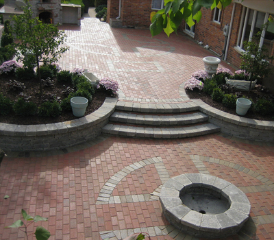 Outdoor Fireplace Oakland MI - SDS Stone Paving - services3