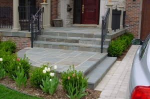 Natural Blue Stone Porch & Steps