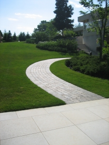 brick paver walkay