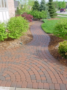 brick paver walkway