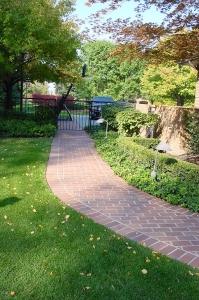 brick paver sidewalk brick paver walkway