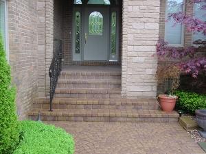 brick paver stairs brick paver steps brick paver porch